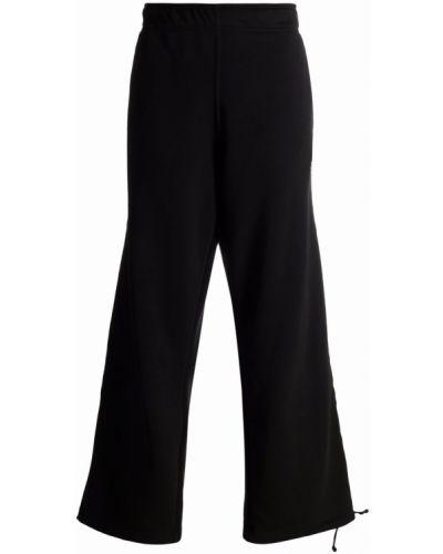 Хлопковые спортивные брюки - черные SociÉtÉ Anonyme