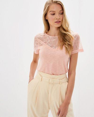 Блузка с коротким рукавом турецкий розовая Dorothy Perkins