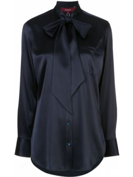 Блузка с длинным рукавом в полоску батник Sies Marjan