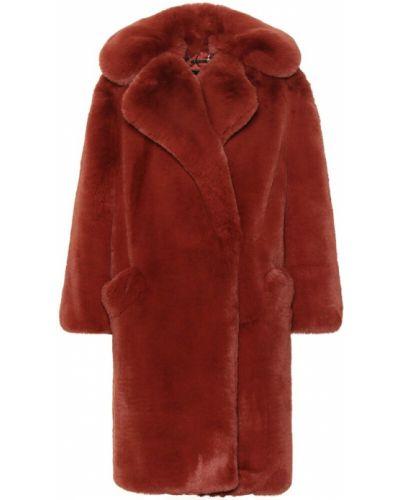 Пышное пальто из искусственного меха Givenchy