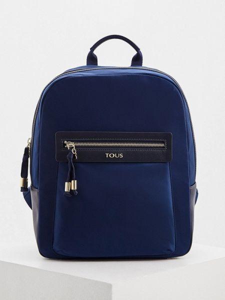 Рюкзак нейлоновый синий Tous