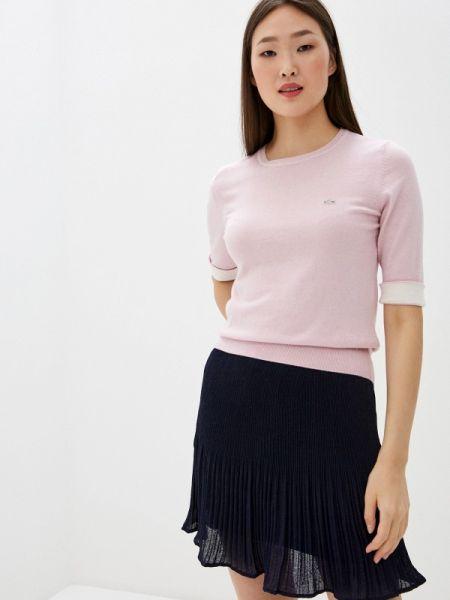 Свитер розовый весенний Lacoste