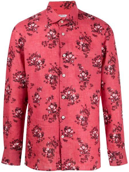 Koszula z długim rękawem klasyczna prosto Kiton