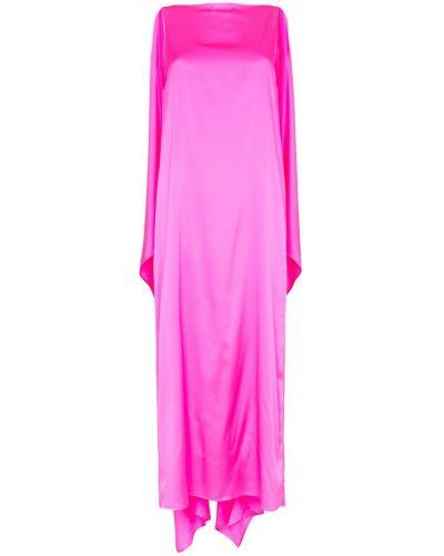 Вечернее платье розовое макси Bernadette