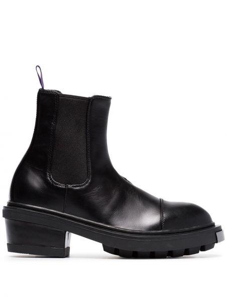 Кожаные ботинки - черные Eytys