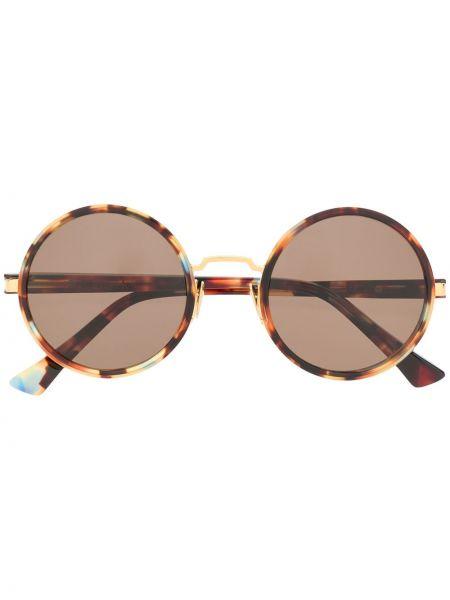 Прямые муслиновые солнцезащитные очки круглые Rodebjer