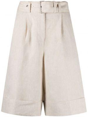 Свободные шорты с карманами свободного кроя Peserico