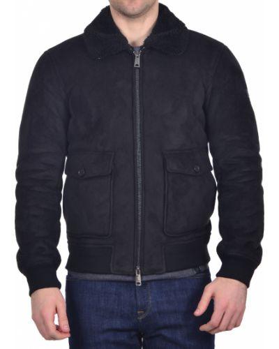 Черная куртка осенняя Armani Jeans