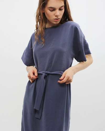 Синее весеннее платье Dasti
