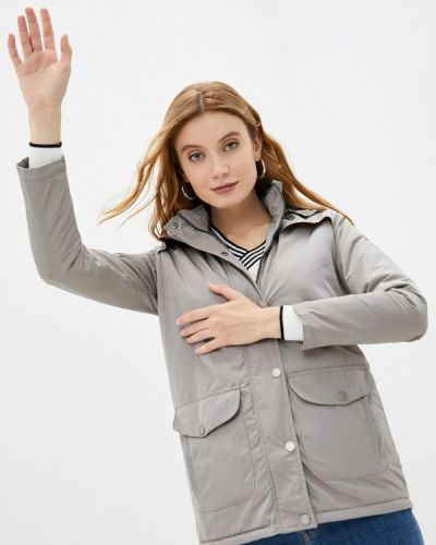 Серая теплая куртка Felix Hardy