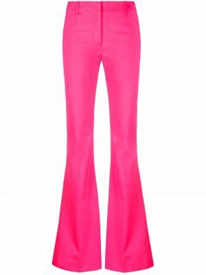 Spodnie z wysokim stanem - różowe Jacquemus