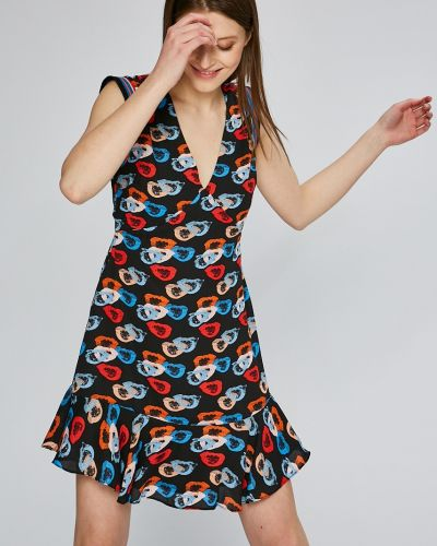 Джинсовое платье мини расклешенное Andy Warhol By Pepe Jeans