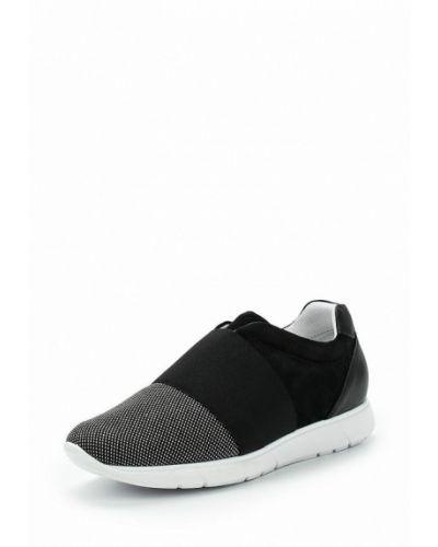 Черные кроссовки замшевые Ralf Ringer