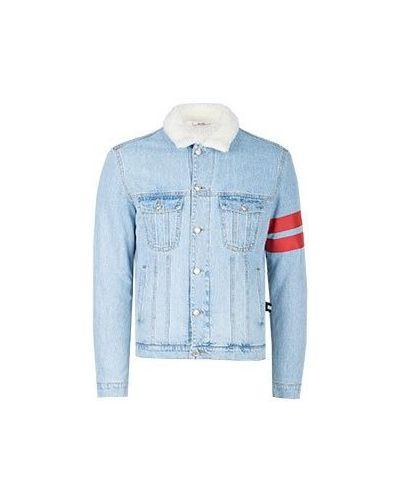 Голубая джинсовая куртка Gcds