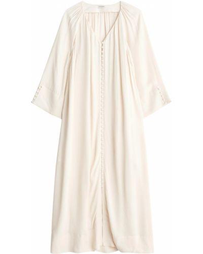 Beżowa sukienka By Malene Birger