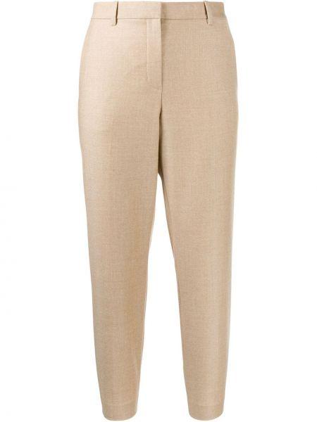 Укороченные брюки брюки-хулиганы дудочки Theory