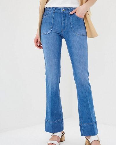 Широкие джинсы расклешенные синие Q/s Designed By