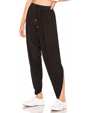 Spodnie bawełniane - czarne Bobi