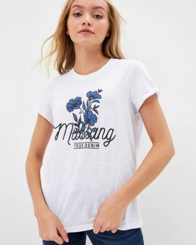 Футболка - белая Mustang