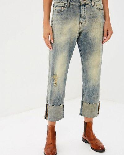 Голубые прямые джинсы Mustang
