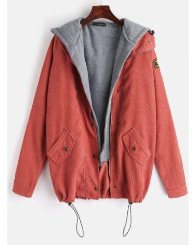 Куртка вельветовая флисовый Zaful