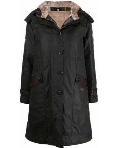 Zielony klasyczny płaszcz Barbour