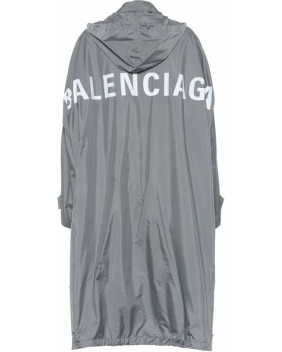 Дождевик белый Balenciaga