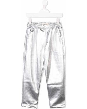 Серебряные брюки Andorine