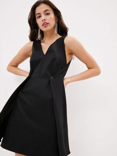 Повседневное платье спортивное черное Sportmax Code