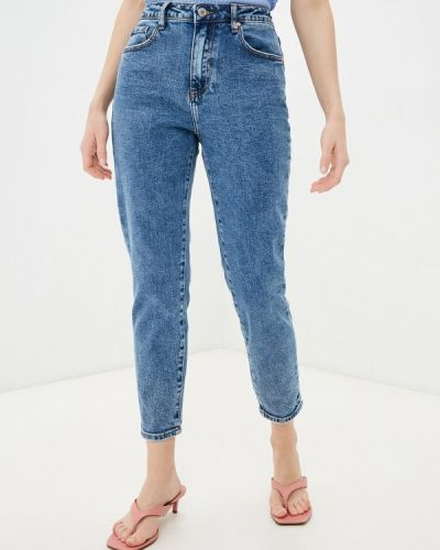 Синие джинсы бойфренды Miss Bon Bon
