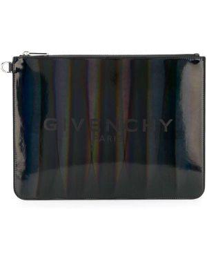 Torba sprzęgło czarny srebro Givenchy