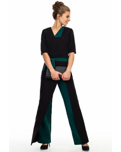 Брючный комбинезон на молнии с широкими брюками Kapsula