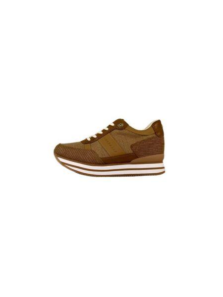 Brązowe sneakersy Apepazza