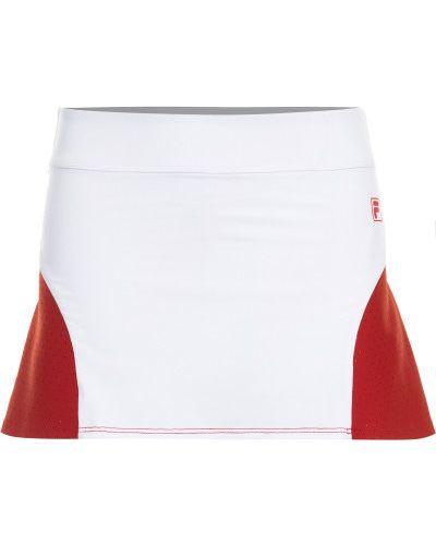 Белая юбка с карманами Fila