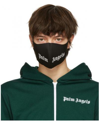 Golf czarny maska do twarzy rozciągać Palm Angels