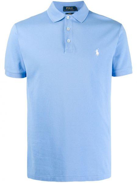 Koszula krótkie z krótkim rękawem z logo prosto Ralph Lauren
