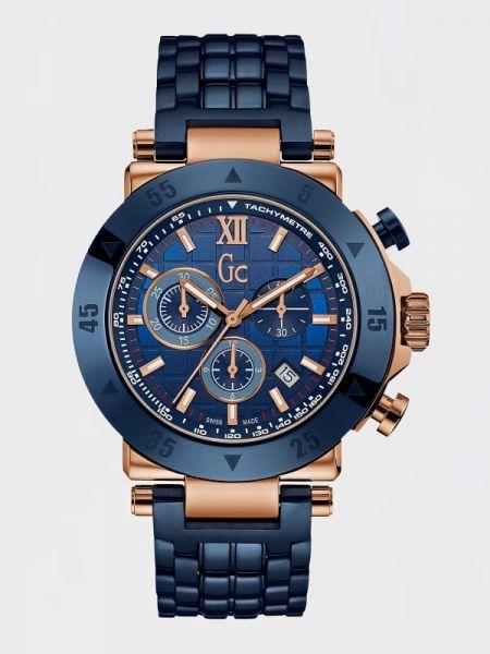 Zegarek sportowy - niebieski Guess
