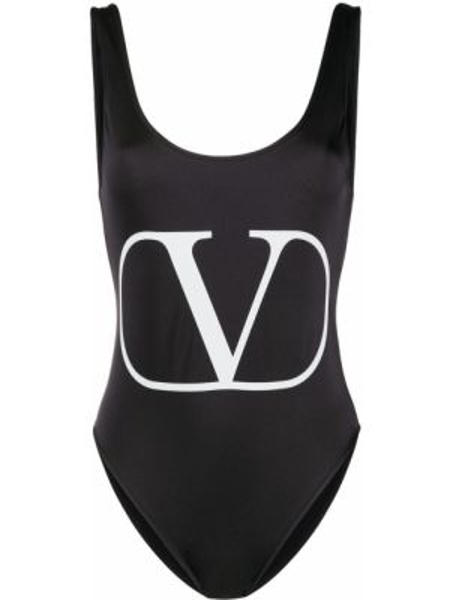 Купальник для бассейна хай-нек Valentino