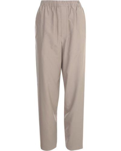 Beżowe spodnie Lemaire