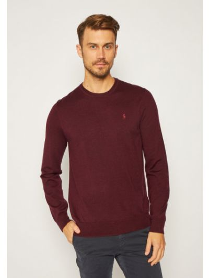 Sweter - bordowy Polo Ralph Lauren