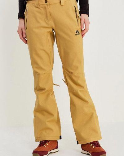Желтые брюки горнолыжные Rip Curl