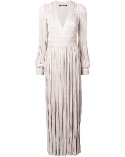 Платье плиссированное с длинными рукавами Antonino Valenti