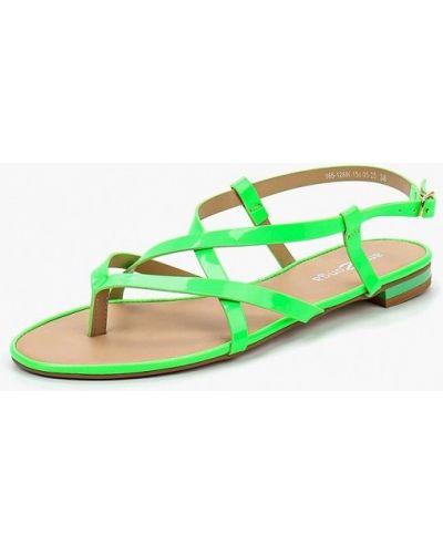 Зеленые сандалии Amazonga