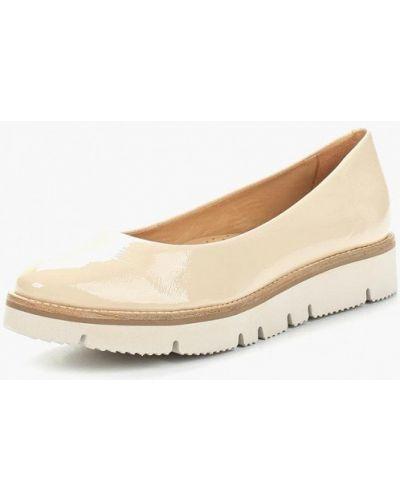 Бежевые туфли Ekonika