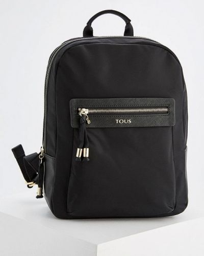 Рюкзак нейлоновый черный Tous