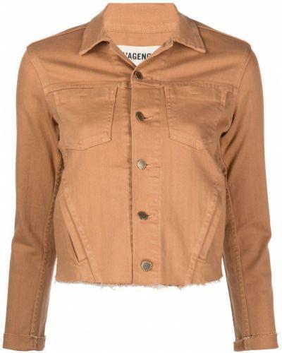 Длинная куртка - коричневая L'agence