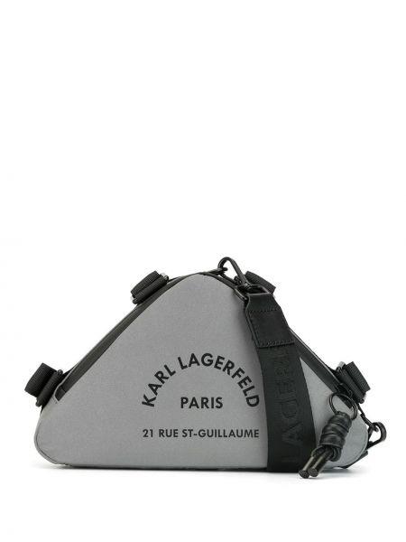 Сумка через плечо с леопардовым принтом на плечо Karl Lagerfeld