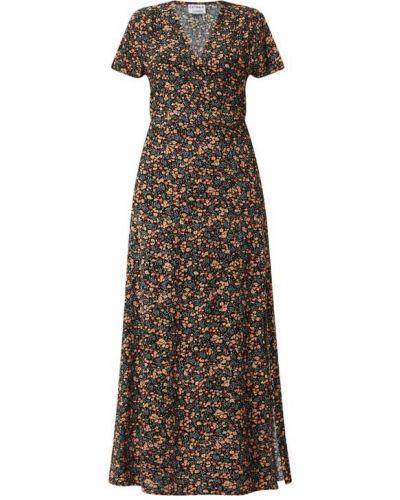 Czarna sukienka długa krótki rękaw Catwalk Junkie