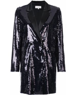 Прямой черный длинная куртка Fleur Du Mal