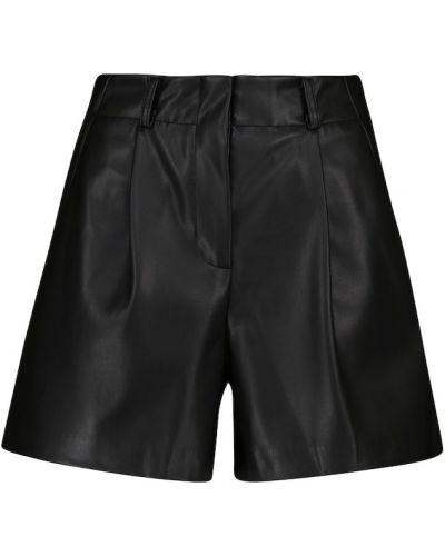 Черные шорты короткие Frankie Shop
